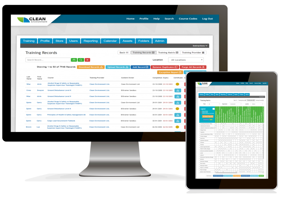 Employee Training Tracking Software Online
