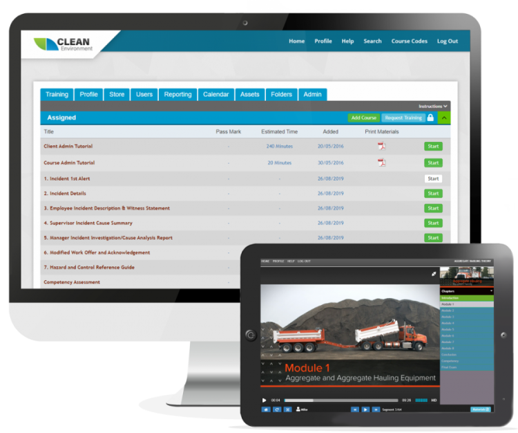 online training management system